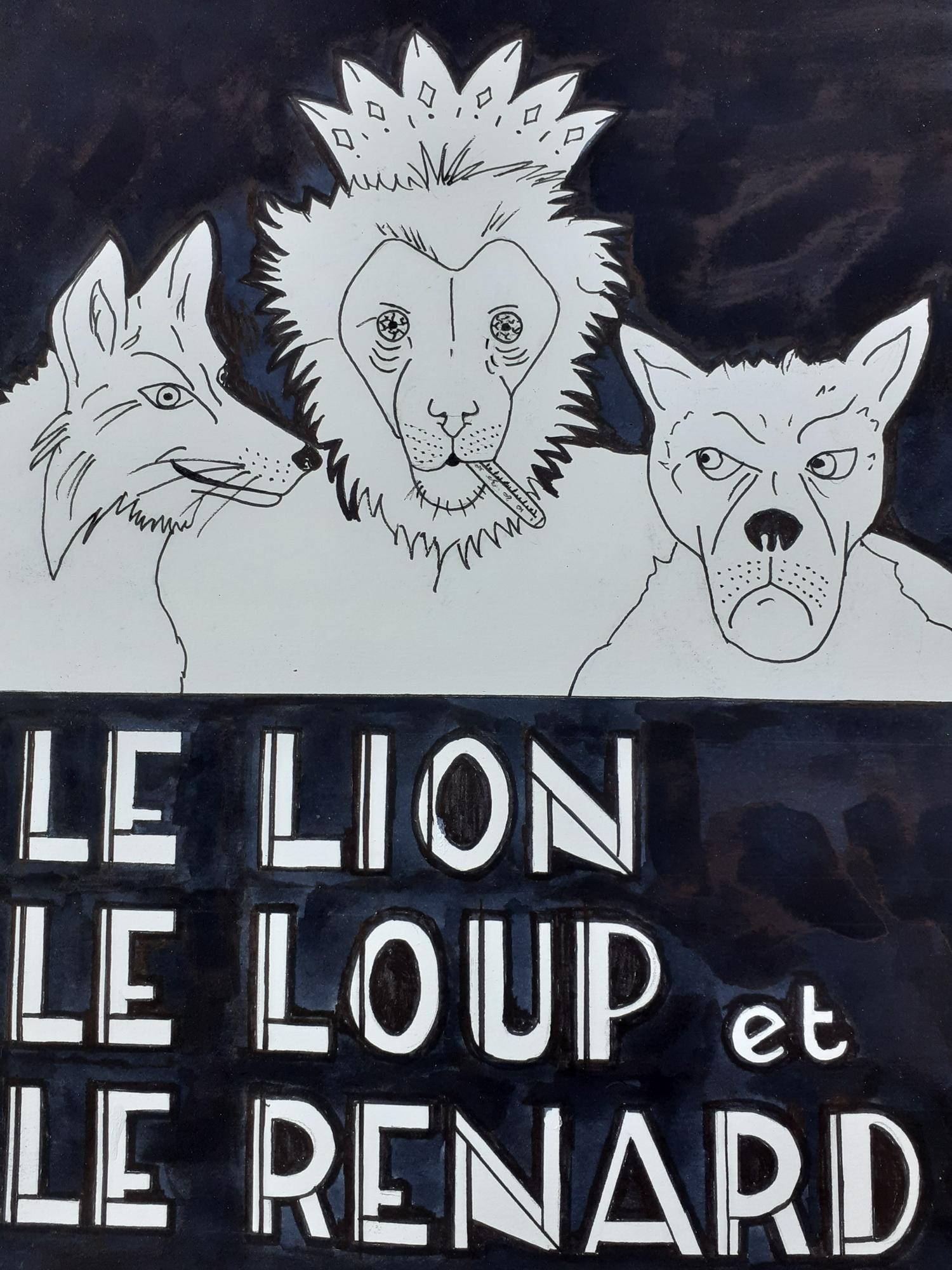 Le Lion, le Loup et le Renard, Éric Leconte